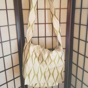 Handbags - 💎Lowest! Like New Reversible Boho Messenger Bag